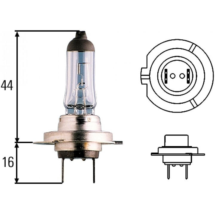 HELLA Optilux XB Series Bulbs